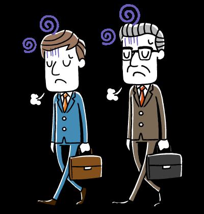 会社経営・事業のトラブルイメージ
